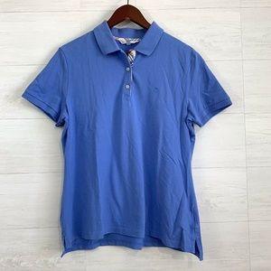 Brooks Brothers 346 Cornflower Blue Popover Polo